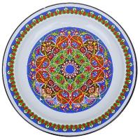 Нов-цк Блюдо эм. 3 л. с КАЛЕЙДОСКОП *7 с0810.0*70 арабский орнамент