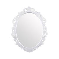"Зеркало в рамке ""Ажур"" 585*470мм Бел"