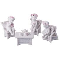 АМ Комплект из 7 фигурок коллекция AMORE высота 5 см