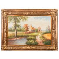 АМ Картина маслянная на холсте 89*59 см. багет 118*87см.