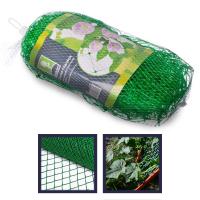 Сетка садовая для вьющихся растений 2*5 м. , пластик, зеленая ,  размер ячейки 15*15 см.