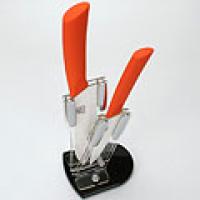 МВ Набор цв/керамических ножей 3пр пласт/подст