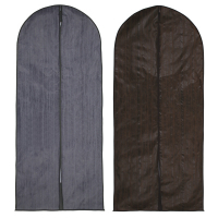 Чехол для одежды спандбонд  60*137 см. ПВХ