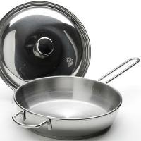 Аша сковорода 1,5 л. мет./кр.ТРС-3 с 1 ручкой