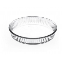 BORCAM Форма круглая для запекания д=260 мм. кругл. без кр. для СВЧ