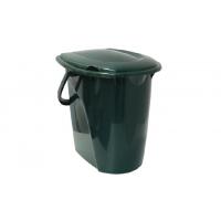 Идея Ведро-туалет 24 л. беж. зелен./6/