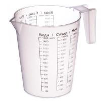 Кружка мерная (стакан) п/м 1,5 л. арт.035/120/