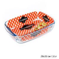 PYREX O CUSINE блюдо прямоуг. 28*20*5 см. 217ВС00/1046