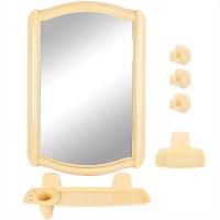 Набор д/ванной с зеркалом 46 св. БЕЖЕВЫЙ*5НВ04607000