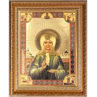Икона 20*25 Блаженная Матрона Московская под стеклом/3027-TF/KS2917-332/