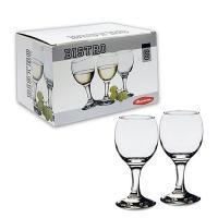 Бор фужеры в наборе 6 шт. д/белого вина 175 мл. БИСТРО
