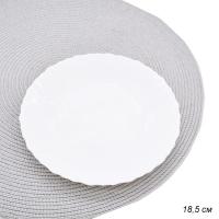ГА Тарелка десертная 18,5 см Фэстон белая Н4997/J6332 /24/