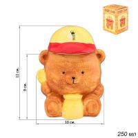 ГА Банка д/меда 250 мл.Медвежонок /110849/10*9*12 см.