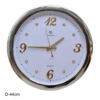 ГА Часы настенные 44 см. 46414T/10/ серебро